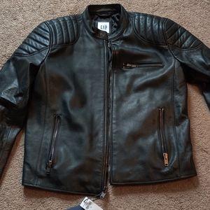 Men's leather Jacket (M)